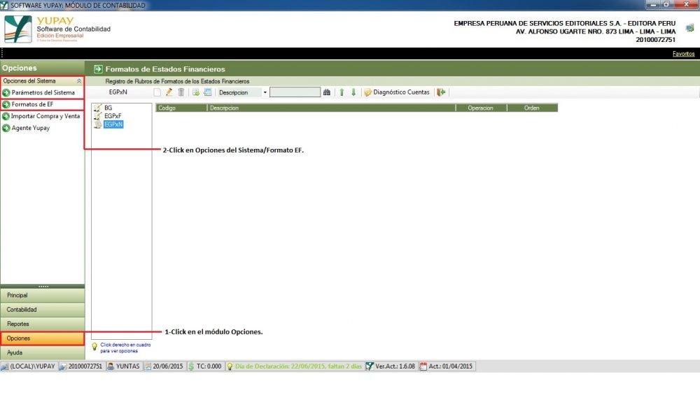 Importar Formatos de Otras Compañías - EGPxN